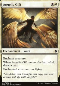 Angelic Gift - Battle for Zendikar
