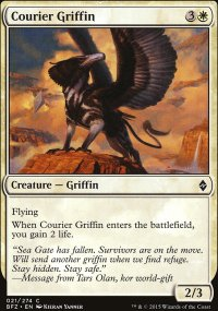 Courier Griffin - Battle for Zendikar