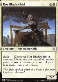 Kor Bladewhirl - Battle for Zendikar
