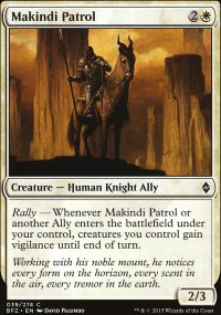Makindi Patrol - Battle for Zendikar