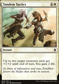 Tandem Tactics - Battle for Zendikar