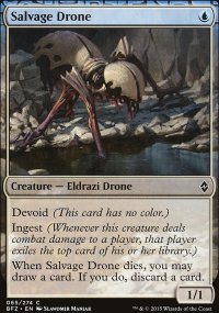 Salvage Drone - Battle for Zendikar