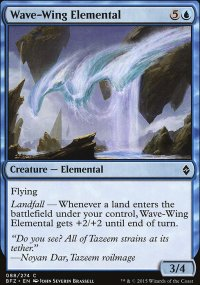 Wave-Wing Elemental - Battle for Zendikar
