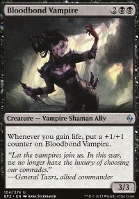 Bloodbond Vampire - Battle for Zendikar
