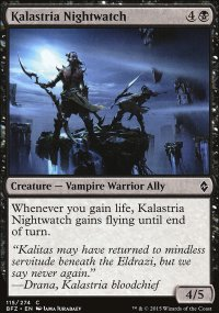 Kalastria Nightwatch - Battle for Zendikar