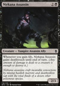 Nirkana Assassin - Battle for Zendikar