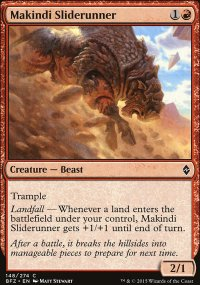 Makindi Sliderunner - Battle for Zendikar