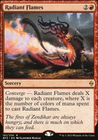 Radiant Flames - Battle for Zendikar