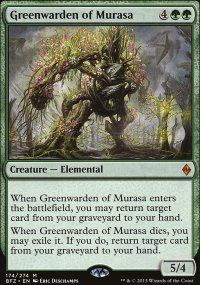 Greenwarden of Murasa - Battle for Zendikar