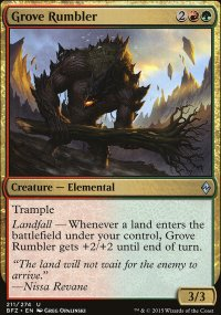 Grove Rumbler - Battle for Zendikar