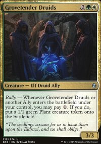 Grovetender Druids - Battle for Zendikar