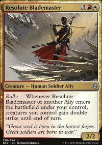 Resolute Blademaster - Battle for Zendikar