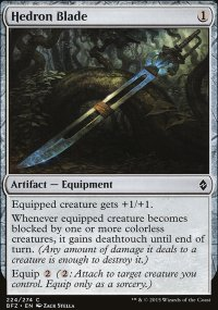 Hedron Blade - Battle for Zendikar