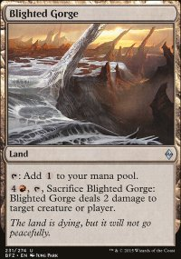 Blighted Gorge - Battle for Zendikar
