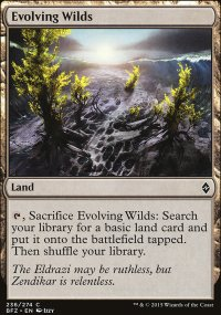 Evolving Wilds - Battle for Zendikar