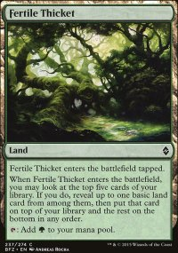 Fertile Thicket - Battle for Zendikar