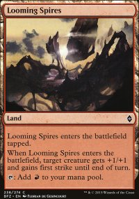 Looming Spires - Battle for Zendikar