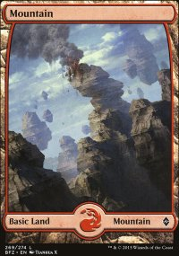 Mountain 9 - Battle for Zendikar