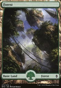 Forest 3 - Battle for Zendikar