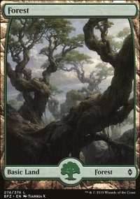 Forest 9 - Battle for Zendikar