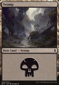 Swamp 10 - Battle for Zendikar
