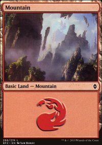 Mountain 4 - Battle for Zendikar
