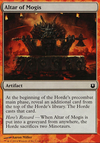 Altar of Mogis - Born of the Gods Challenge Deck : Battle the Horde