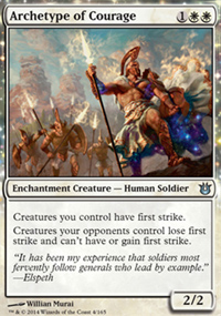 Archetype of Courage - Born of the Gods