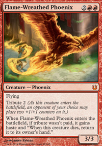 Flame-Wreathed Phoenix - Born of the Gods