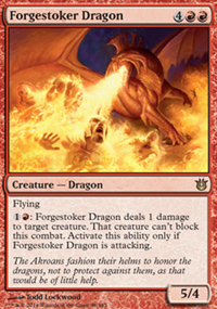 Forgestoker Dragon - Born of the Gods