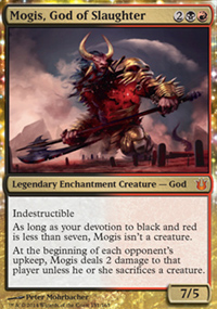 Mogis, God of Slaughter - Born of the Gods