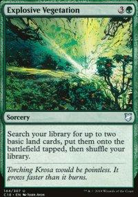 Explosive Vegetation -