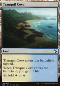 Tranquil Cove - Commander 2018