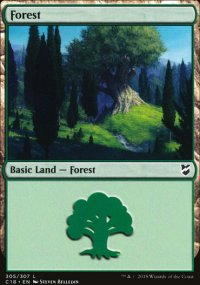 Forest 1 - Commander 2018