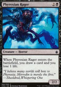 Phyrexian Rager - Commander Anthology