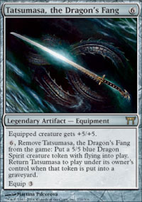 Tatsumasa, the Dragon's Fang - Champions of Kamigawa