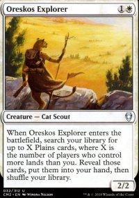 Oreskos Explorer - Commander Anthology Volume II