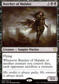 Butcher of Malakir - Commander Anthology Volume II