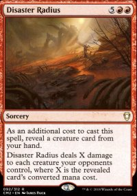 Disaster Radius - Commander Anthology Volume II