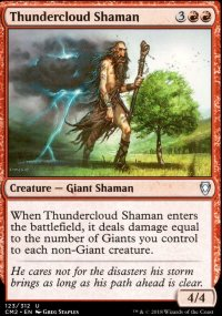 Thundercloud Shaman - Commander Anthology Volume II