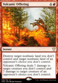 Volcanic Offering - Commander Anthology Volume II