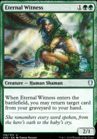 Eternal Witness - Commander Anthology Volume II