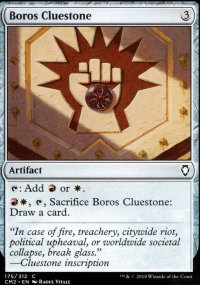 Boros Cluestone - Commander Anthology Volume II