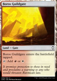 Boros Guildgate - Commander Anthology Volume II