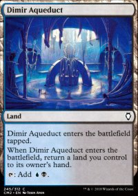 Dimir Aqueduct - Commander Anthology Volume II