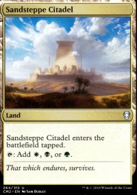 Sandsteppe Citadel - Commander Anthology Volume II