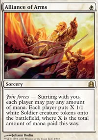 Alliance of Arms - MTG Commander