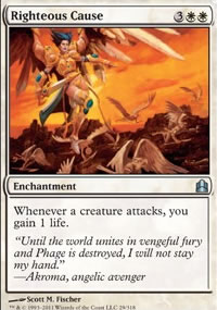 Righteous Cause - MTG Commander