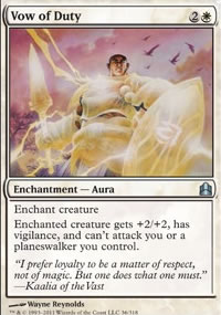 Vow of Duty - MTG Commander