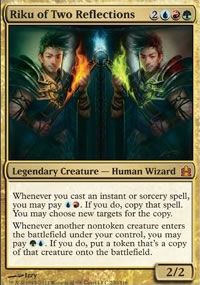 Riku of Two Reflections - MTG Commander
